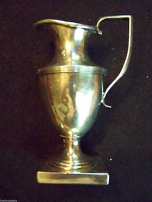 "ANTIQUE ENGLISH VICTORIAN CLASSICAL STYLE ""REVERE"" LIKE FOOTED Sm FLORAL VASE"