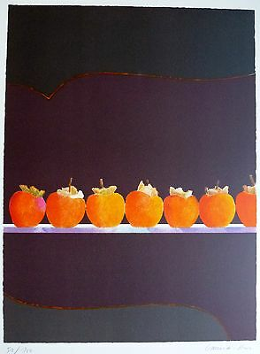 Pierre Garcia-Fons Geometrical fruit HAND SIGNED LIM.ED 51/100 LITHOGRAPH French