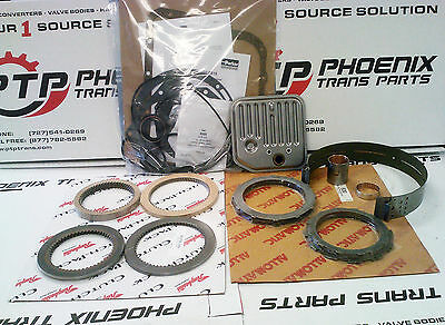 A518 TRANSMISSION MASTER REBUILD KIT 1998 & Up CLUTCHES STEELS