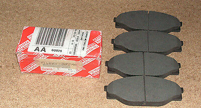 Toyota Hilux Set Of Front Brake Pads . Genuine Toyota Part . New