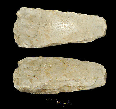 DANISH NEOLITHIC STONE AGE THICK BUTTED AXE axehead tool 025048