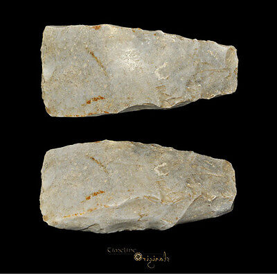 DANISH NEOLITHIC STONE AGE THICK BUTTED AXE axehead tool 025037