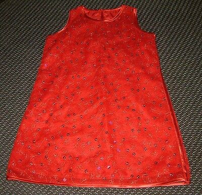 """""""M&S"""" Girl's Red Dress  2-3 Years"""