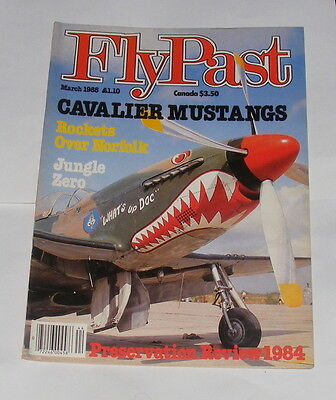 Flypast Magazine March 1985 - Cavalier Mustangs