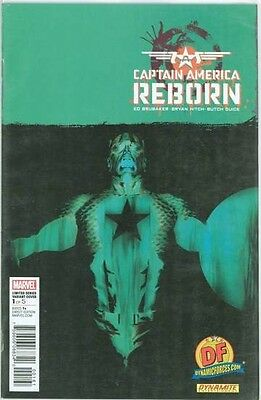 Captain America Reborn #1 Df Dynamic Forces Alex Ross Negative Variant Coa Nm