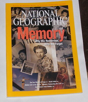 National Geographic Magazine November 2007 - Memory
