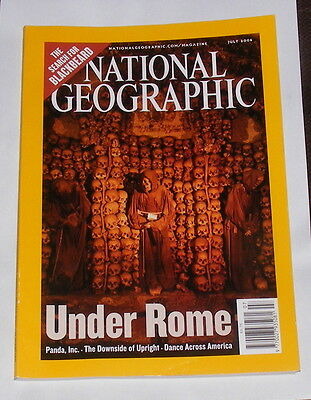 National Geographic Magazine July  2006 - Under Rome