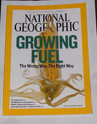 National Geographic Magazine October 2007 - Growing Fuel