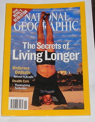 National Geographic Magazine November 2005 - The Secrets Of Living Longer