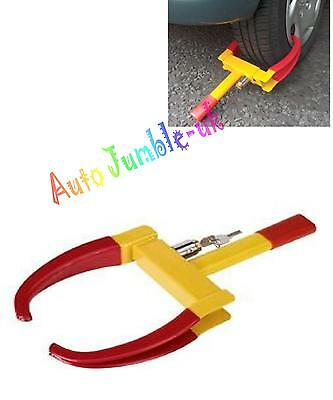 Wheel clamp lock CLAW car van or caravan trailer UNIVERSAL anti theft deterrent