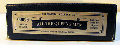 Britains 54mm All The Queens Men Ceremonial Collection 00093