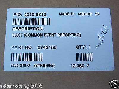 New Simplex *Box Factory Sealed* 4010-9810 0742155 Dact Common Event Reporting