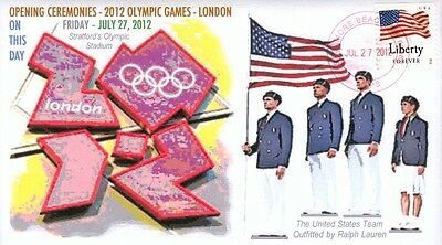 COVERSCAPE computer generated 2012 London Olympic Games opening ceremony cover