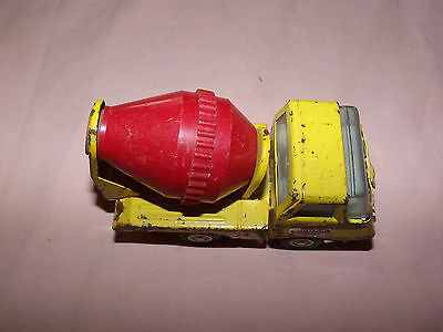 Vintage Toy 1960-70S Tonka Mini Metal Red Cement Mixer Truck