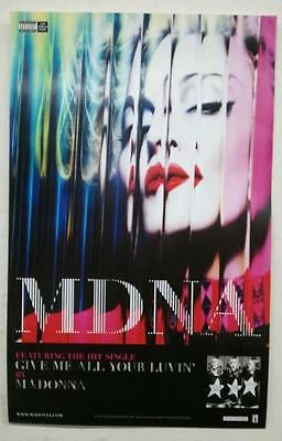 MADONNA -  GIVE ME ALL YOUR LUVIN' 14x22 POSTER P2269