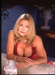 Shannon Tweed Busty Cleavage Celebrity Centerfold Playboy '96 Photo Transparency