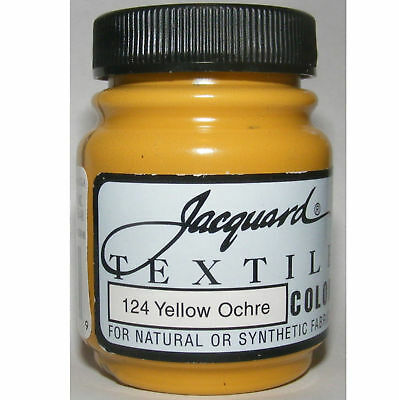 Yellow Ochre' Natural Or Synthetic Fabric Paint