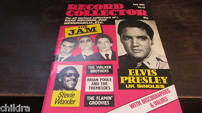 Record Collector July '83 The Jam Elvis Presley Walker Brothers Flamin' Groovies