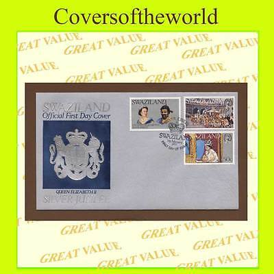 Swaziland 1977 Silver Jubilee set First Day Cover
