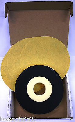 "5 Pack Norton 9"" 100 Grit Sand Disc 1 Back Up Pad Abrasive Sanding Drywall Kit"