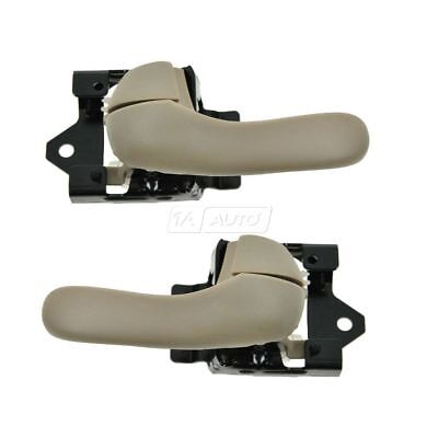 Neutral Inner Inside Door Handle Pair Set for 00-05 Chevy Monte Carlo Impala