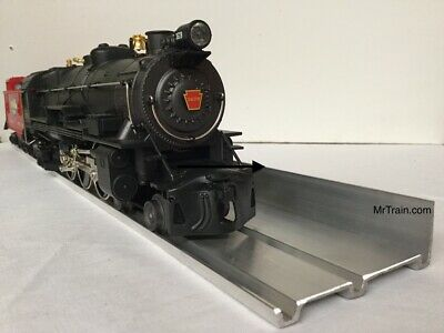 DISPLAY SHELVES for Model Railroad Trains Collectible 10 Pack O Gauge / Aluminum