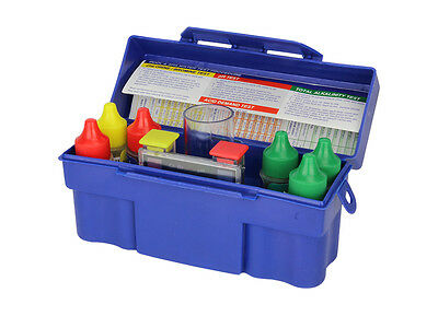 NEW! 5-Way Swimming Pool/Spa Water Chemical Test Kit