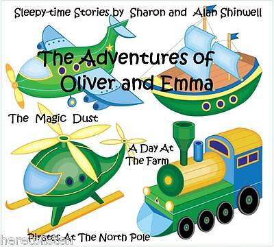 Bedtime Stories for Children 2-5 yrs on CD 3 Magical Stories to help them sleep