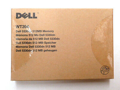Genuine Original Dell 5330dn 512Mb Laser Printer Memory RAM WT394  NEW