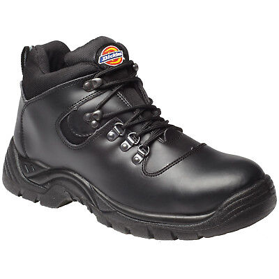 Mens Dickies Fury Safety Work Boots Size Uk 4 - 12 Fa23380A Black