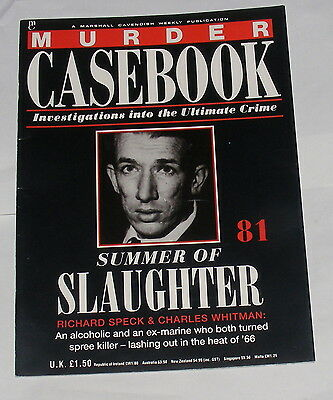Murder Casebook Number 81 - Summer Of Slaughter - Speck & Whitman