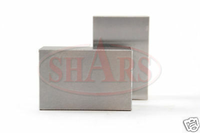Shars Pair 123 Blocks 1-2-3 Ultra Precision No Hole Hardened