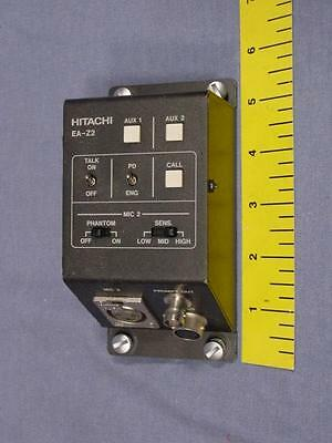 Hitachi EA-Z2 Teleprompter Extension Adapter B Stock