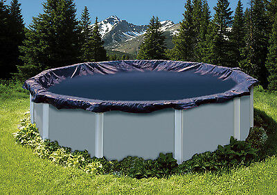 Swimline 15' Round Above Ground Swimming Pool Leaf Net Top Cover | CO915