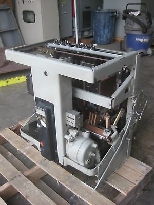 General Electric AK-2-75-2 3000 Amp Air Breaker 3000A 600V 600 V GE EO/DO AK2752
