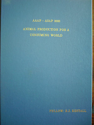 Aust ANIMAL PRODUCTION FOR A CONSUMING WORLD (UNSW 2000) Farming rare h/c