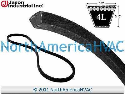 """Carrier Bryant York Industrial V-Belt P465-4L370 P463-A35 S1-A35 1/2"""" x 37"""""""