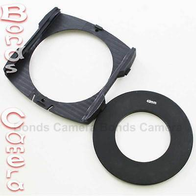 49mm Adapter Ring + Wide Angle Filter Holder for Cokin P Series Camera Lens