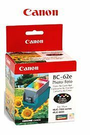 Genuine Canon BJC-8000 Printhead & Ink Cartridge BC-62e