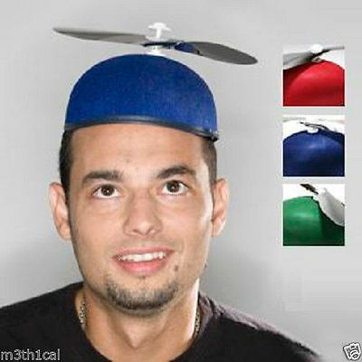 Beanie Copter Helicopter Propeller Hat Cap Costume Prop Accessory Assorted NEW