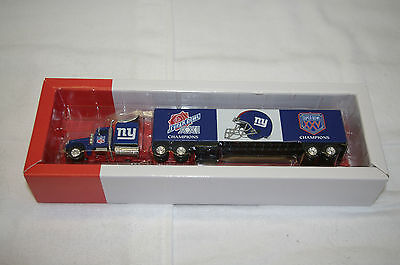 New York Giants 2001 Greatest Team Truck Trailer METAL DIE CAST 1:80 COLLECTIBLE