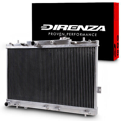 Direnza High Flow Race Radiator Rad For Hyundai Coupe Mk2 2.0 2.7 V6 Gk 02-09