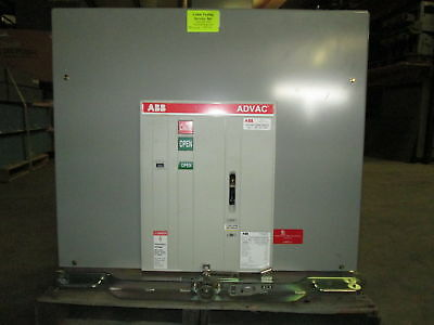 ABB ADVAC 1200 Amp 15 KV AA3J177700000UP vacuum circuit breaker ANSI 15kV