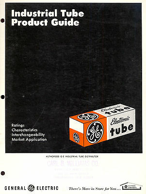Vintage INDUSTRIAL TUBE PRODUCT GUIDE General Electric Owensboro, Kentucky