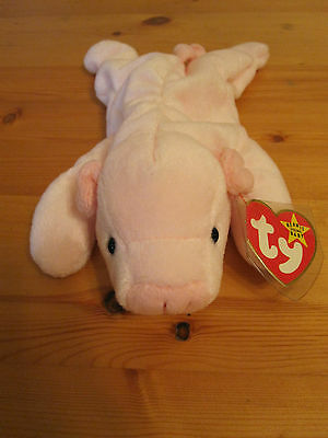 SQUEALER-TY BEANIE BABY ORIGINAL AND RETIRED