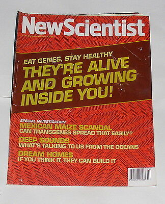 New Scientist Magazine 15Th June 2002 - They Are Alive And Growing Inside You!