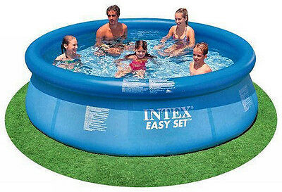 """Intex 10' x 30"""" Easy Set Above Ground Inflatable Swimming Pool w/o Pump 