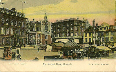 NORWICH ( Norfolk) :  The Market Place - NUDD