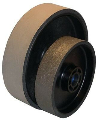 BUTW 8 x 2 x 8000 grit diamond soft flex lapidary grinding wheel E