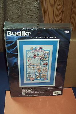 Bucilla Meant To Be Together Counted Cross Stitch Kit Linda Gillum Sealed